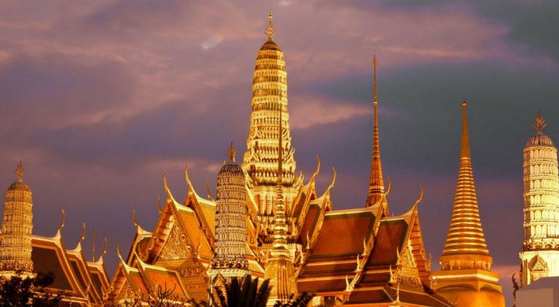 Hình 1: Xứ sở Chùa Vàng Thái Lan