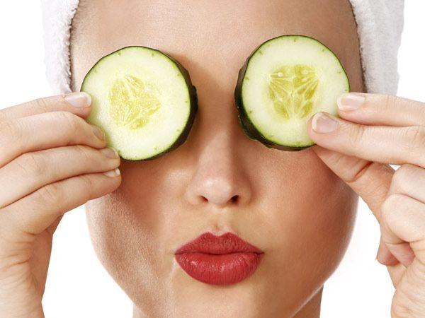 Cách chữa sưng bọng mắt bằng mặt nạ